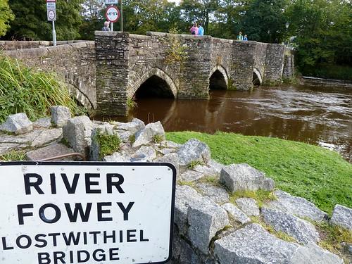 Medieval Bridge over River Fowey, Lostwithiel