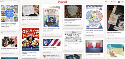 Kids' Government Activities Pinterest Board