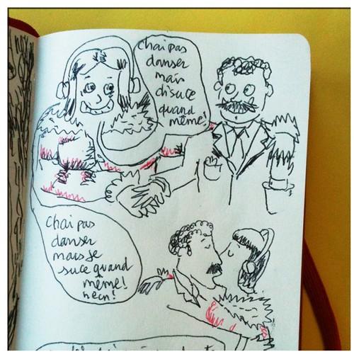 Conversation savoureuse (entendue dans le train!) by 201169