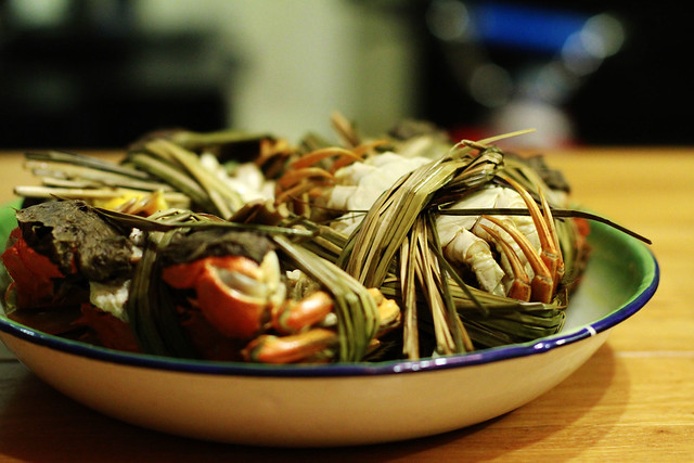 Hairy Crab Dinner At Home