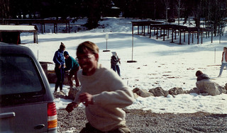 1990 spring break trip to New Mexico, led by Professor Rick Hazlett. Destinations included White Sands, Carslbad Caverns and Chiricahua National Monument