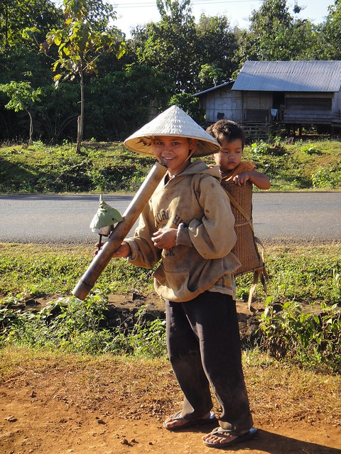 sekong province woman