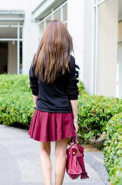 maroon-skater-skirt