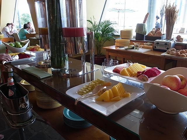 <p>4階の朝食会場</p>