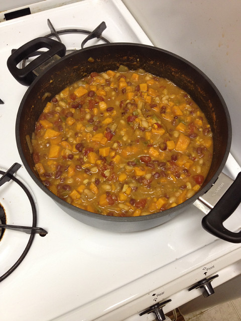Sweet Potato and Bean Chili