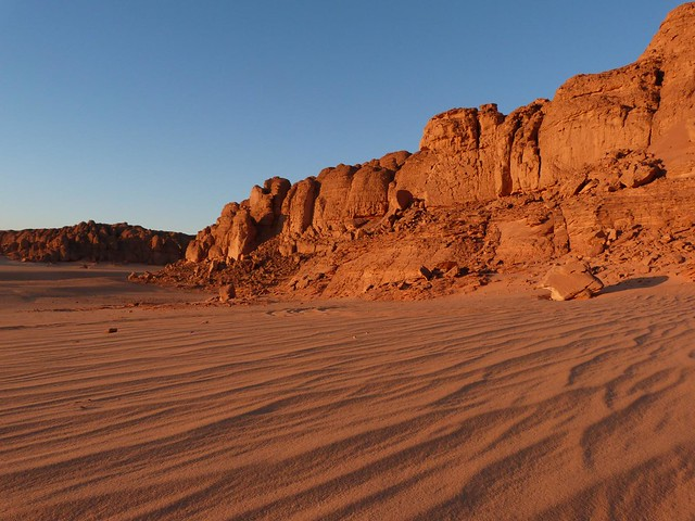 Desierto líbico de Egipto
