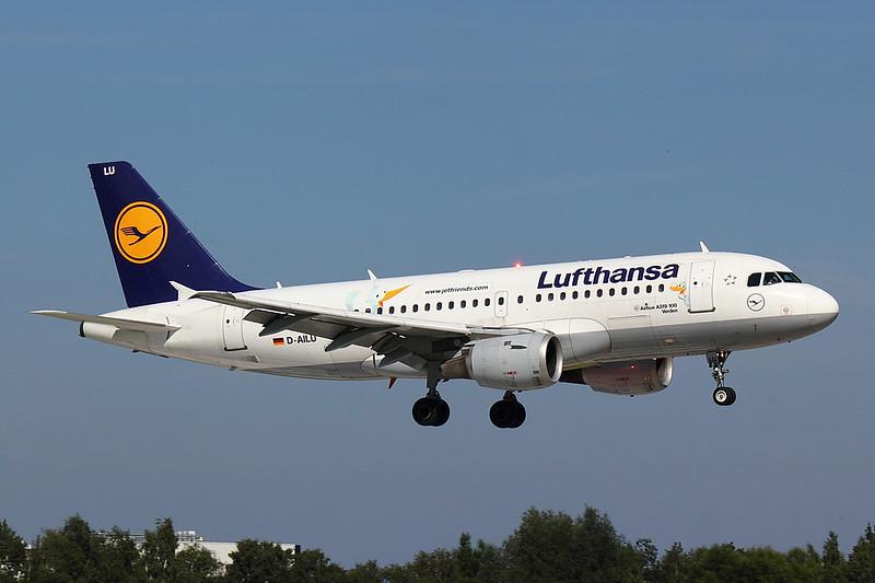 Lufthansa - A319 - D-AILU (1)