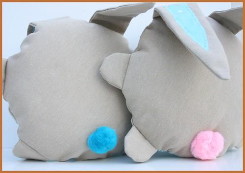 bunny softie (back)