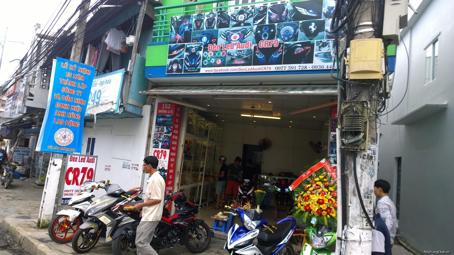 [CR79] cửa hàng chuyên ĐÈN LED AUDI SH,EX,WAVE,FUTURE,PCX..ĐỒ CHƠI LED ở Nha Trang