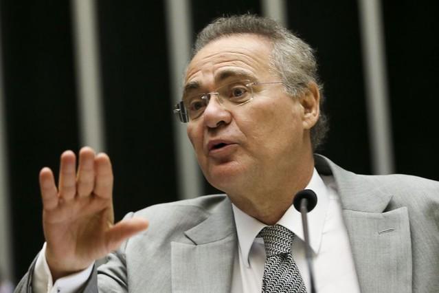 """Em áudio, Renan afirma que senador Aécio Neves (PSDB) """"está com medo"""" das delações - Créditos: Marcelo Camargo/Agência Brasil"""