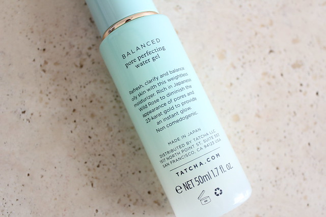 TATCHA Pore Perfecting Water Gel review