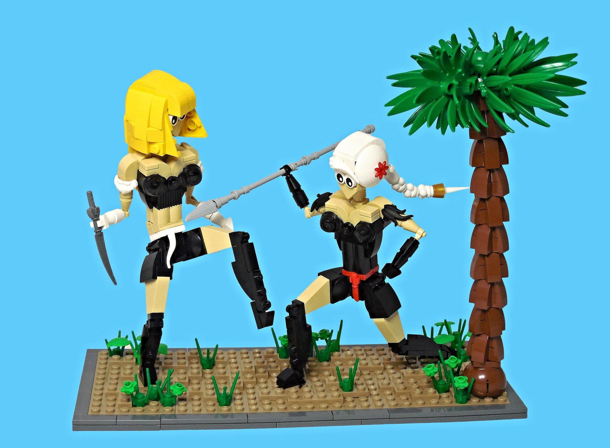 LEGO® MOC by Vitreolum: Catfight
