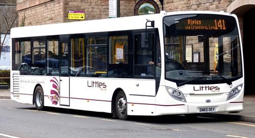 SN65 OEY 'Littles of Ilkeston' 'ADL' Enviro 200 / 'ADL' Enviro 200 on 'Dennis Basfords' railsroadsrunways.blogspot.co.uk