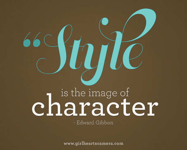 stylecharacter copy