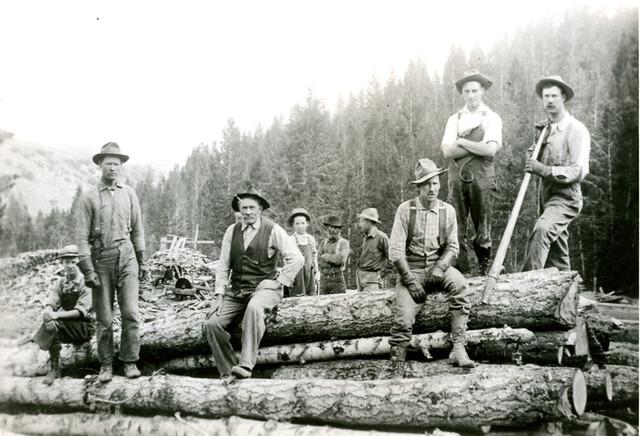 Lumberjacks Mackay, ID