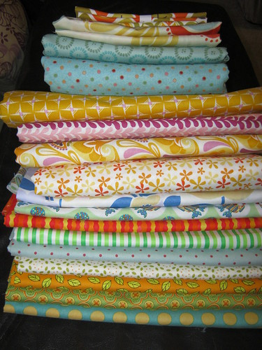 Mountain of Fabric!