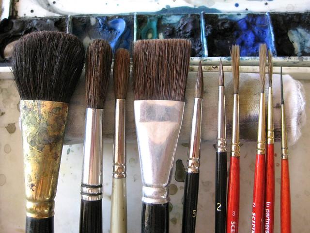 brushes VI