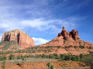 Orange rocks in Sedona