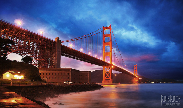 the splendor of the golden gate bridge