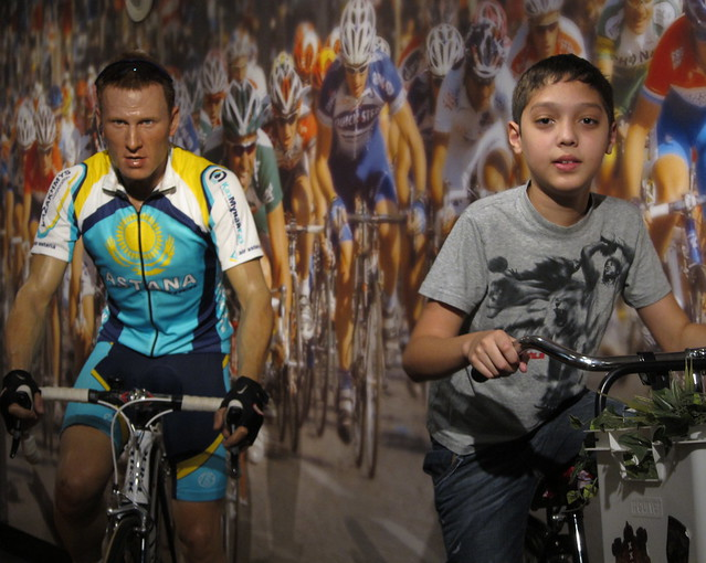 Lance Armstrong and Ben