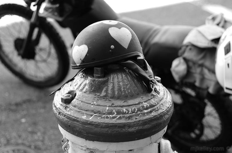 Hearts Helmet