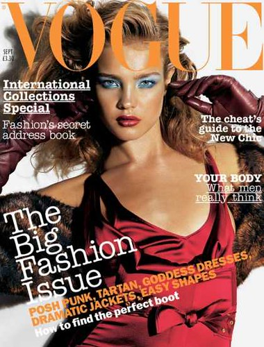 Supermodel Natalia Vodianova Vogue Magazine International by Victoria´s Secret Show