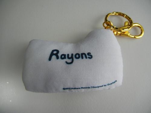 Rayons Cushion Keychain