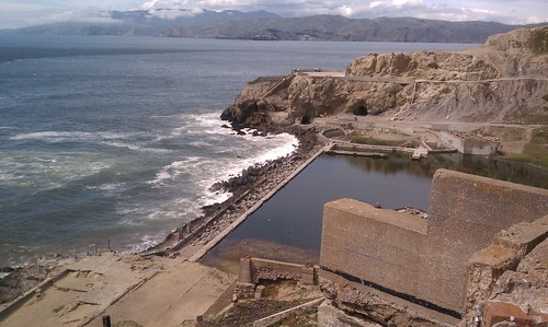 Remains of Sutro Baths
