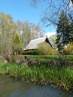 thatched house, Spreewald