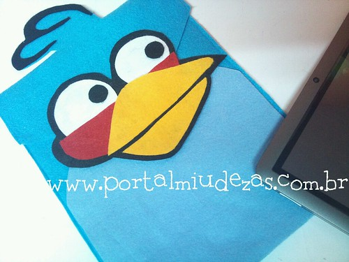 Case Angry Birds - Ipad/ Tablet by miudezas_miudezas