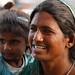 une maman indienne et sa fille...
