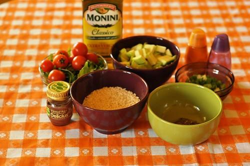 Ingrediente Deliciu Verde cu salata de rucola