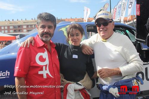 Josep María Servià, Fina Roman, Jean Louis Schlesser Baja España 2011
