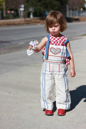 Factory girl overalls