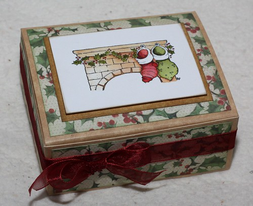Magnolia Stocking Gift Box