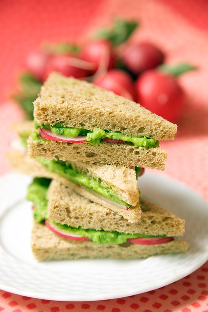 Radishes add a peppery crunch to any sandwich.