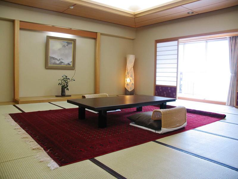 荒川と岩畳を一望できる20畳特別室
