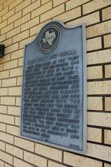 Pilot Point Post-Signal, Pilot Point, Texas Historical Marker