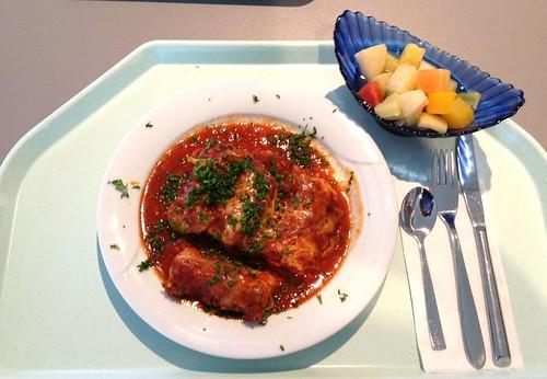 Cannelloni mit Fleischfüllung & Tomatensauce