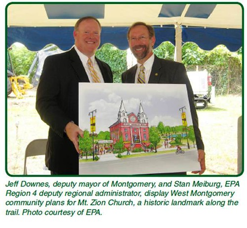 part of the Selma-Montgomery Trail (by: EPA, via Partnership for Sustainable Communities)