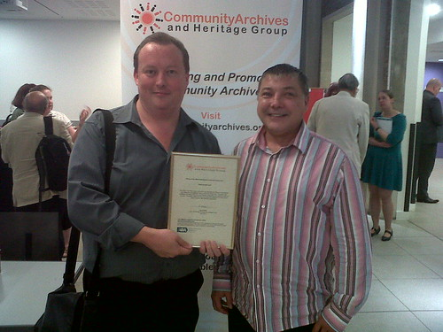 Plymouth's Inspirational LGBT History Archive wins National Award July 2012