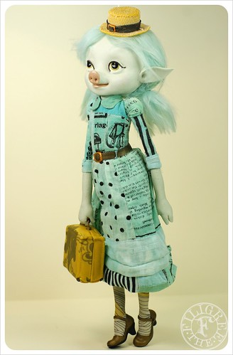 Foreigner Doll - Malinda Chavi by the Filigree