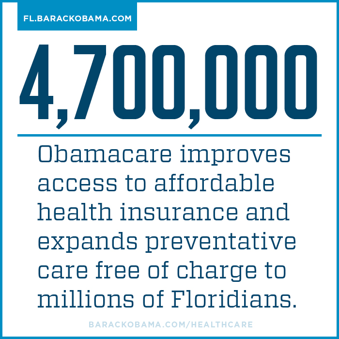 Millions of Floridians benefit from Obamacare
