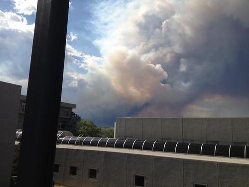 ANA HQ smoke
