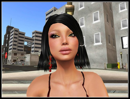 Eluzion * Luanna RED - Earrings (FATPACK) = 60 l by Cherokeeh Asteria