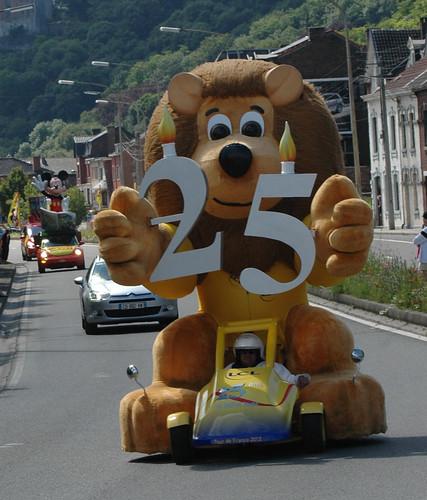 Tour de France 2012-Etape 1 - Caravanne publicitaire
