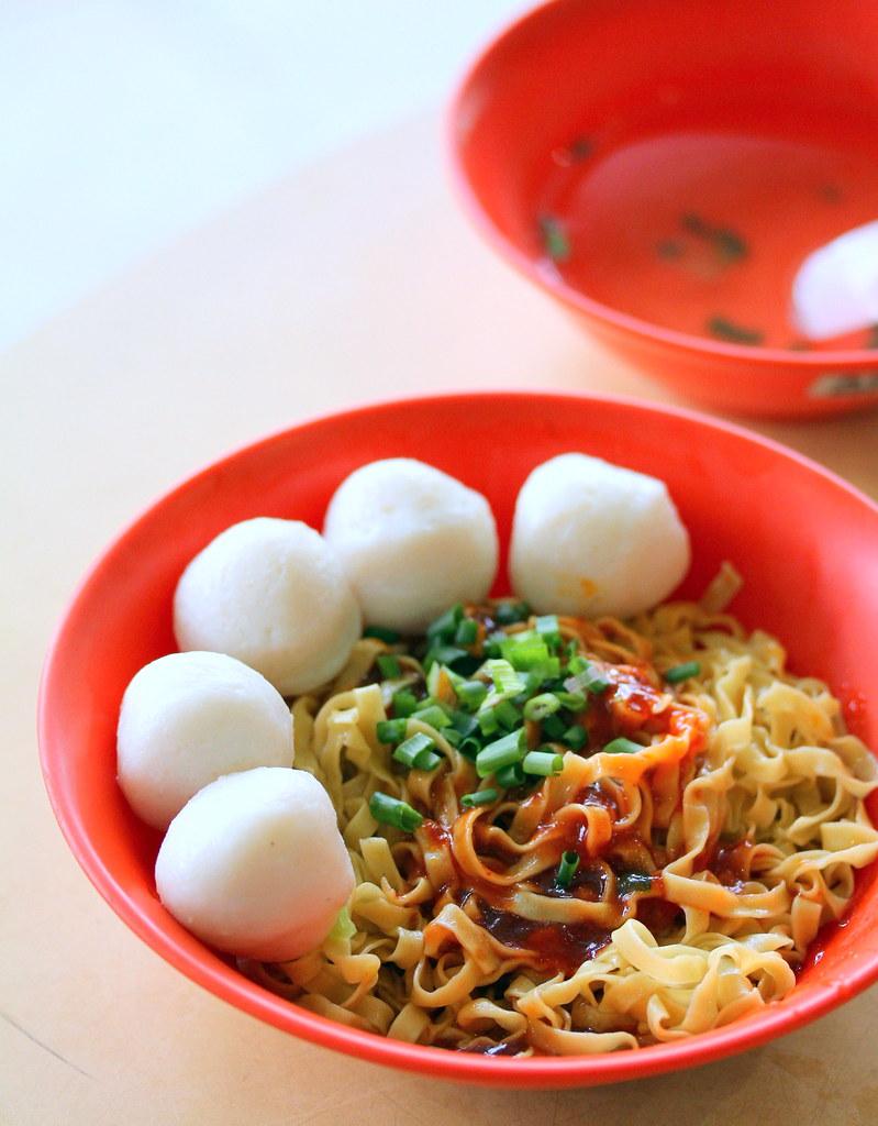 Kim Keat Palm Food Centre: Chao Zhou Fishball Noodle
