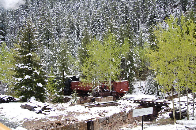 Narrow gauge railroad  - Georgetown Loop Railroad