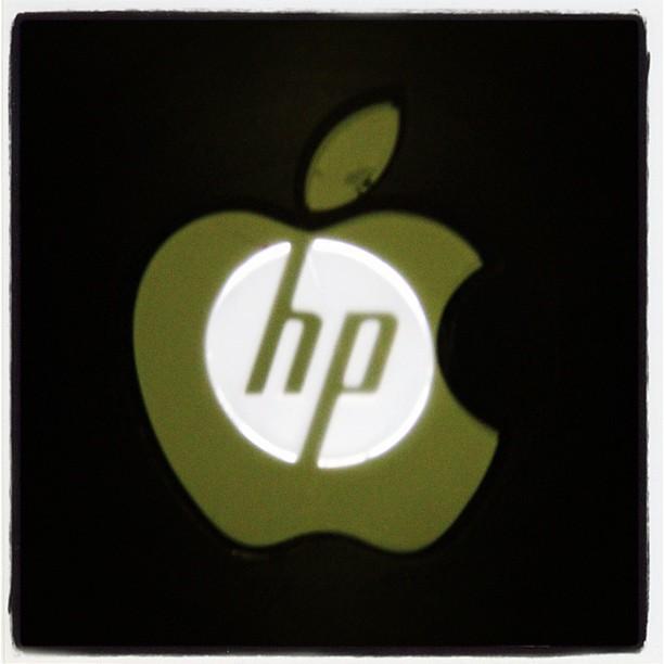 Sticker r design - Sticker To Turn My Hp Into A Mac Macenvy Hp Apple