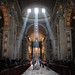 Blessed by the crepuscular rays at Saint Peter's Basilica. by ルーク.チャン.チャン